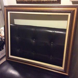 Vintage Large frame 38 by 32